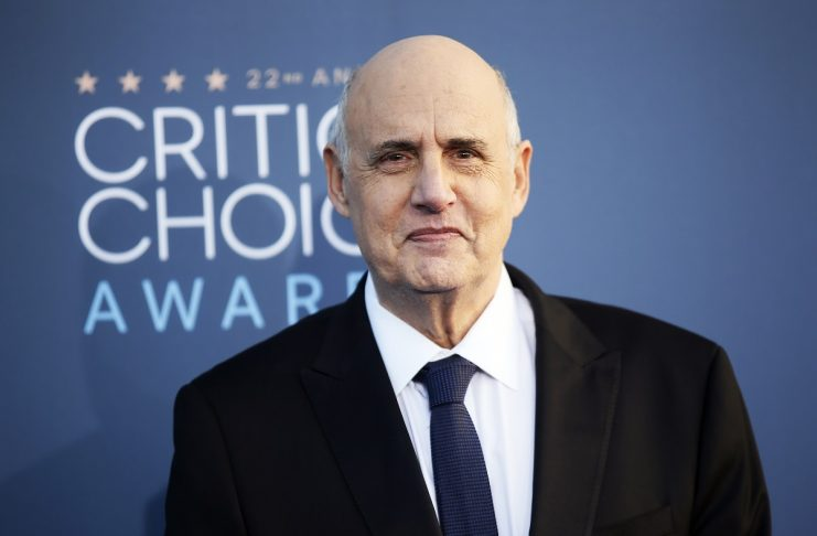 Jeffrey Tambor arrives at the 22nd Annual Critics' Choice Awards in Santa Monica