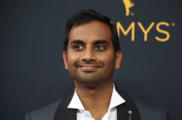 """Actor Aziz Ansari from the Netflix series """"Master of None"""" arrives at the 68th Primetime Emmy Awards in Los Angeles"""