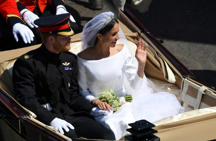 Prince Harry, Queen Elizabeth's grandson, marries U.S. actress Meghan Markle in Windsor