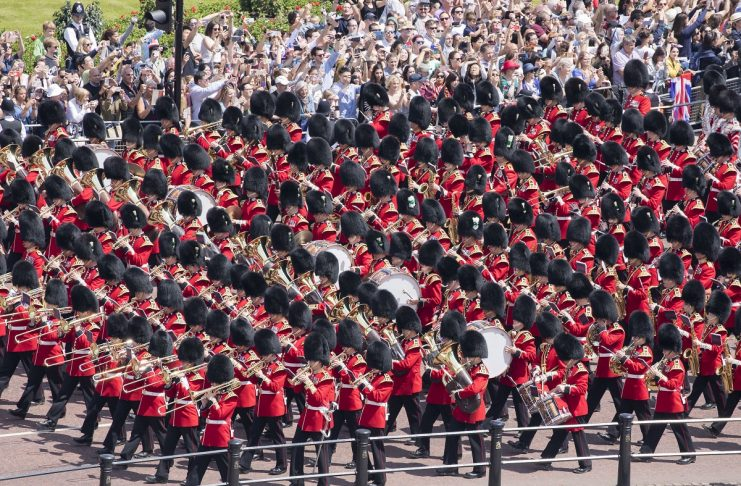 Trooping The Colour Marks Her Majesty The Queens Official Birthday