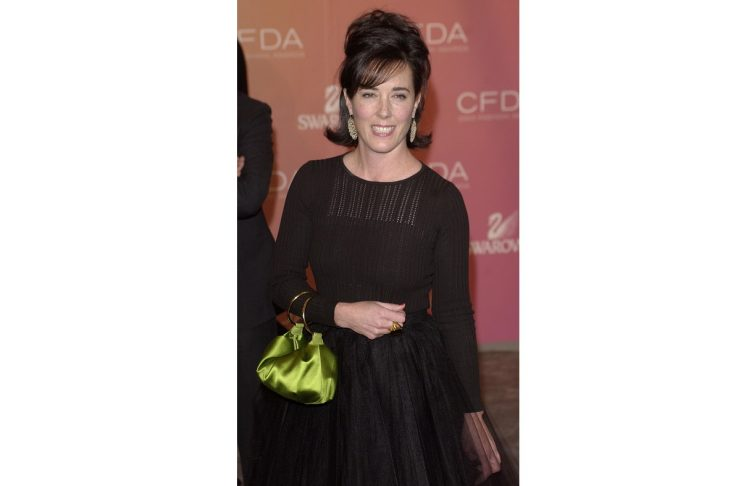 KATE SPADE ARRIVES AT THE COUNCIL OF FASHION DESIGNERS OF AMERICA